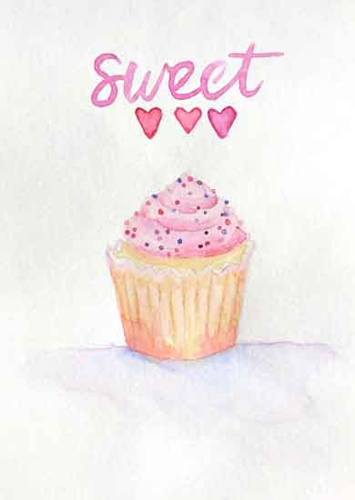 art prints - Sweet little cupcake by Melissa Hyatt