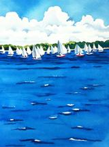 Junior Sailors by Cathleen Earle