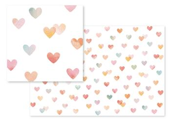 Painterly Hearts