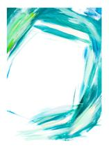 Emerald Facets by Marcelle Calder