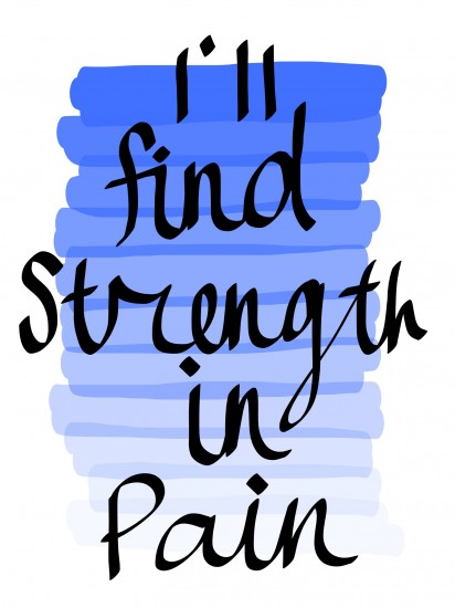 art prints - Strength In Pain by Elsa Wong