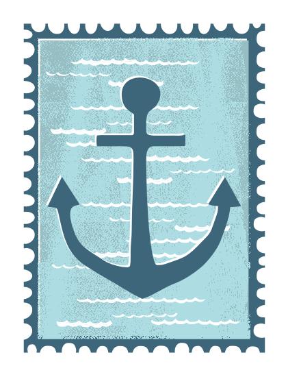 art prints - Anchor by Nicola Blom