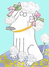 Petunia Poodle by erin mcgill