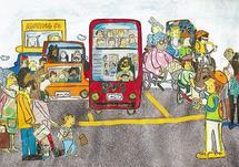 Street Scene by erin mcgill