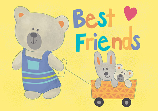 art prints - Best Friends Forever by Diane Eichler