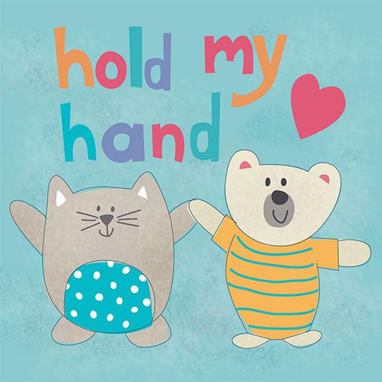 art prints - Hold my Hand by Diane Eichler