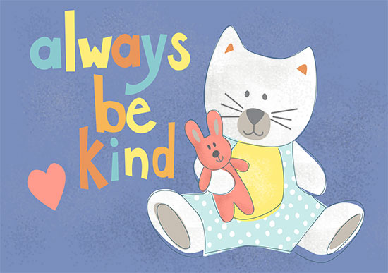 art prints - Always be Kind by Diane Eichler