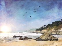 Sunset Beach by Regan Daniels