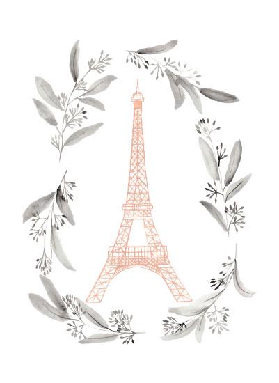 art prints - Tour Eiffel by Anna Liisa Moss