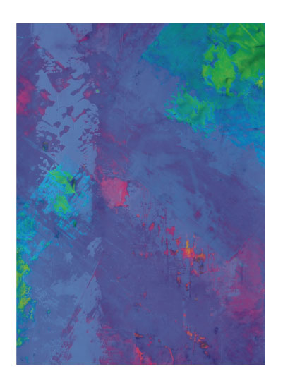 art prints - Abstract in Blue by Pia Sjölin