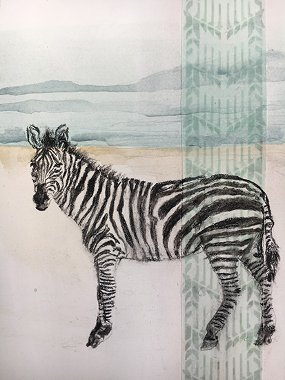 art prints - Sailor in the Safari by Emily Ufer