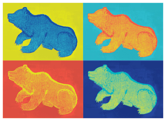 art prints - Pop-a Bear by Denise Cupoli
