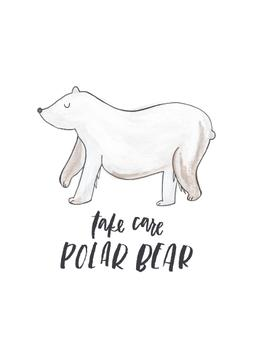 Take Care Polar Bear