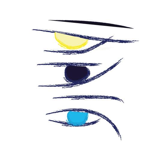 art prints - Eyes by Chitra Sharma