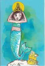 Blue Mermaid by Anna Kochevar