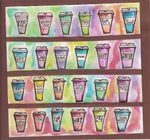 Rainbow Latte's by Anna Kochevar