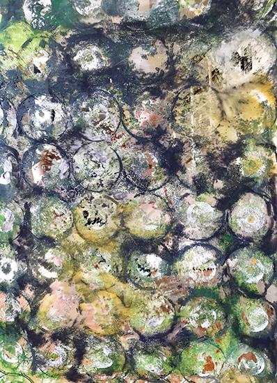 art prints - Circles,Circles and Circles again by Lauren Rose Jackson