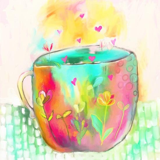 art prints - Cuppa Love by Ksenia Yakovleva