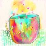 Cuppa Love by Ksenia Yakovleva