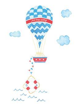 Just Keep Sailing Hot Air Ballon