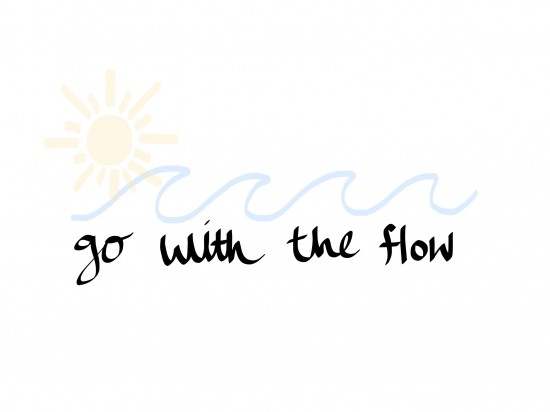 art prints - Go With The Flow by Elsa Wong