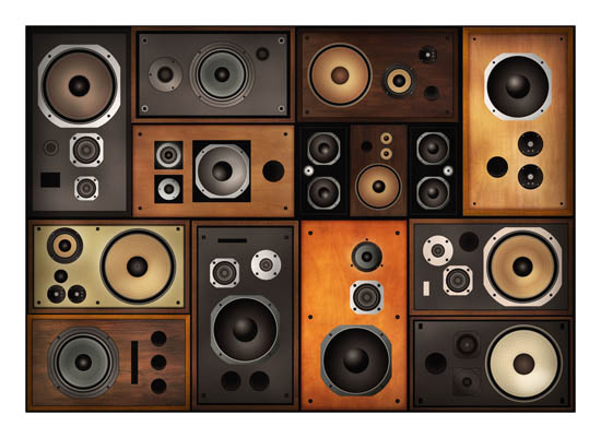 art prints - Wall of Sound by Dalu Design