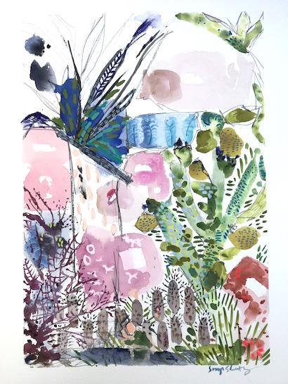 art prints - Spring's Romance No.1 by Sonya Schwartz