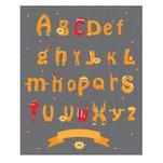 Alphabet robot by Lesia