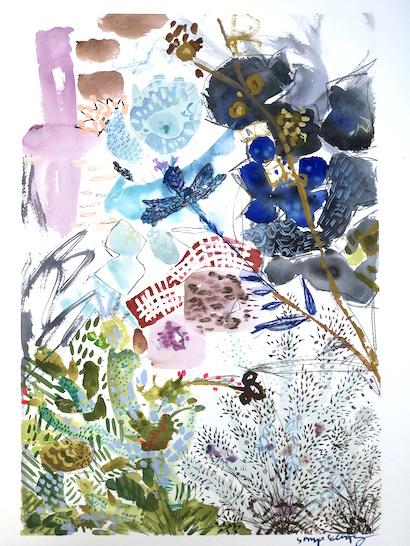 art prints - Spring's Romance No.2 by Sonya Schwartz