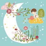 Garden in the Moon by YULLY ANA