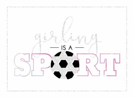 art prints - Girling is a Sport by Mindy Levin