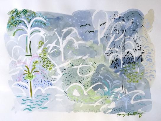 art prints - Beyond The Wall No.1 by Sonya Schwartz