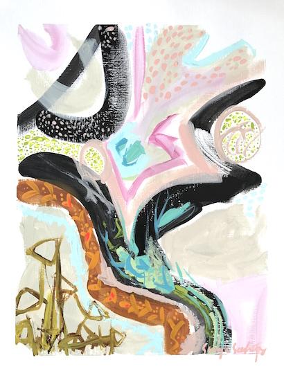 art prints - A Night's Sky Part 2 by Sonya Schwartz