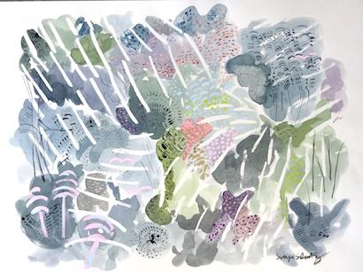 art prints - Beyond The Wall No.2 by Sonya Schwartz