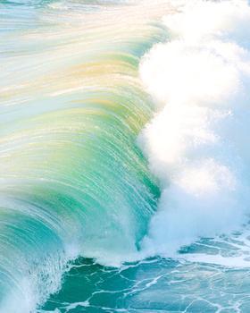 Sun-kissed Waters