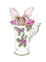 Cup Fairy by Santie Amery