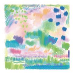 Pastel Abstract Garden
