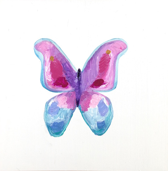 art prints - Bright Butterfly by Hannah Lowe Corman