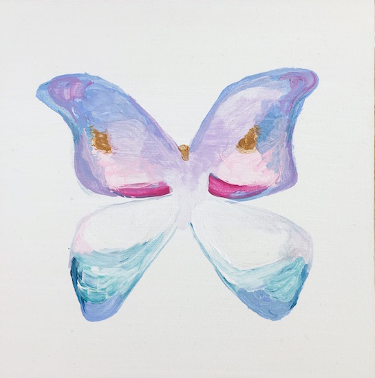 art prints - Delicate Butterfly by Hannah Lowe Corman