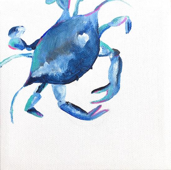 art prints - Crabby IV by Hannah Lowe Corman