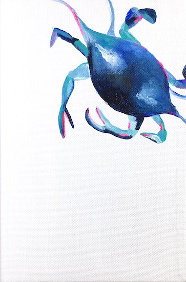 art prints - Crabby V by Hannah Lowe Corman