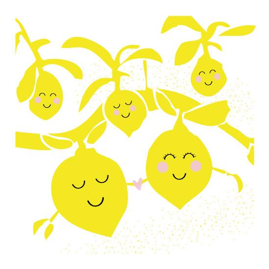 art prints - Lemon Tree Love by Oh So Smitten