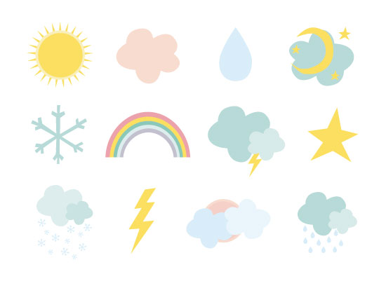 art prints - Weather by Oh So Smitten