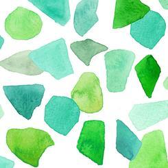 Sea Glass watercolor