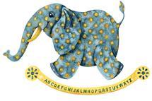 Elephant Alphabet by Shannon Christensen