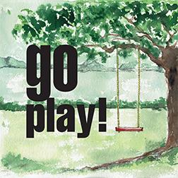 art prints - Go Play! by Carlita Brown Christian