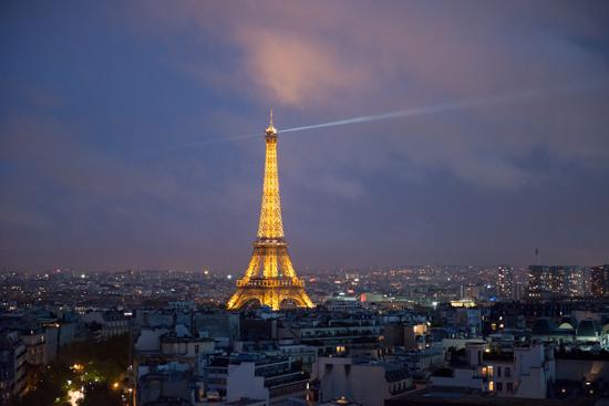 art prints - good night, Paris by Crystal Lynn Collins