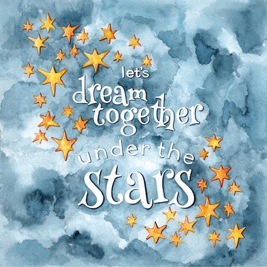 art prints - Dream Under the Stars by Shannon Christensen