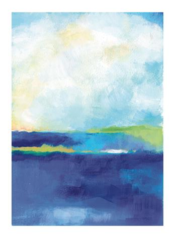 art prints - Blue Harbor by Alison Jerry Designs