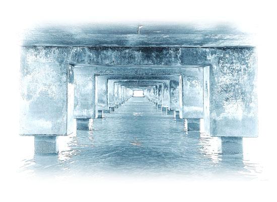 art prints - Under The Pier by Dalu Design